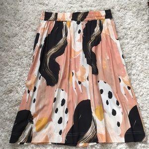 Anthropologie Skirts - The Odells button down midi skirt